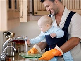 7+1 پیشنهاد برای پدرانی که خانه می مانند