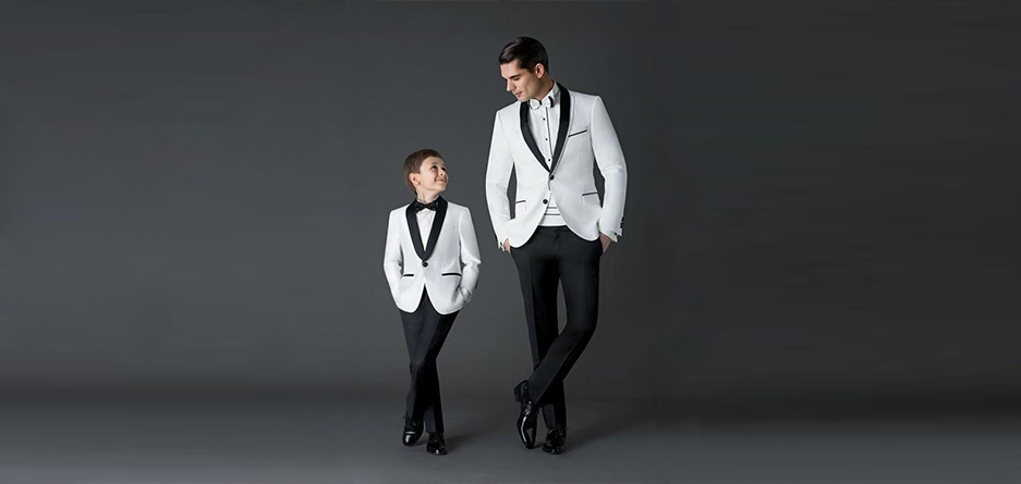 قواعد ست كردن لباس پدر و پسر