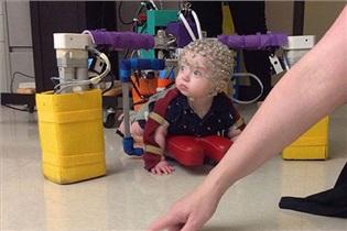 درمان فلج مغزی نوزادان با ربات/فناوری جدید پزشکی