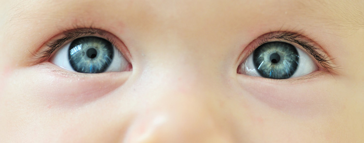 رنگ چشم فرزندمان