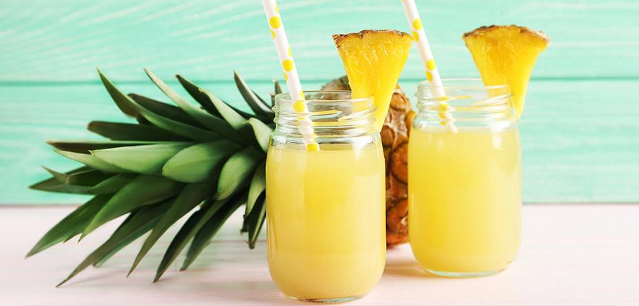 طرز تهیه نوشیدنی مناسب بارداری با آناناس