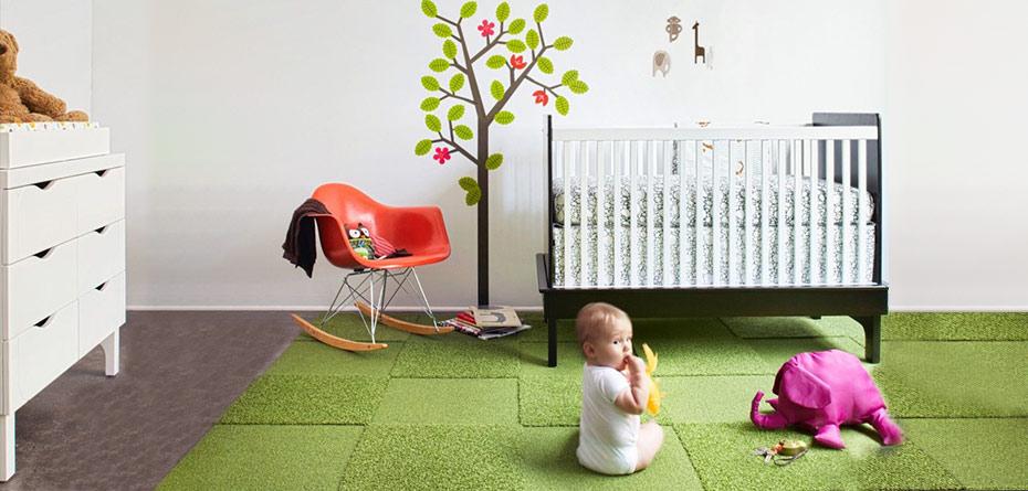 فرش اتاق نوزاد چه ویژگیهایی باید داشته باشد؟