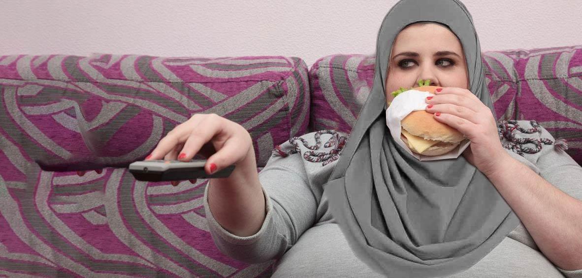 چاقی بیشتر از سیگار برای خانمها مضر است
