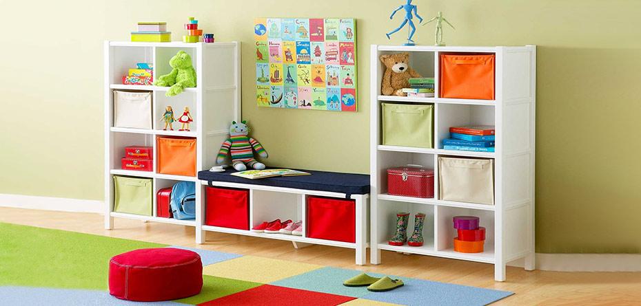 با نظم دهنده ها اتاق نوزادتان را مرتب بچینید