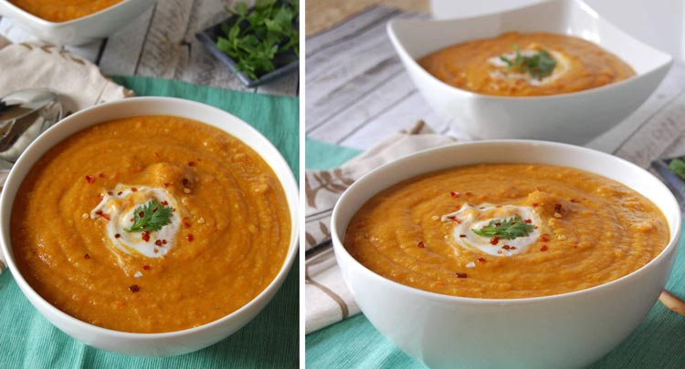 سوپ برای ماه آخر بارداری