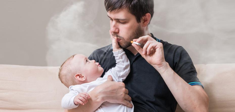 پدران سیگاری باعث کاهش باروری پسرشان میشوند؟!