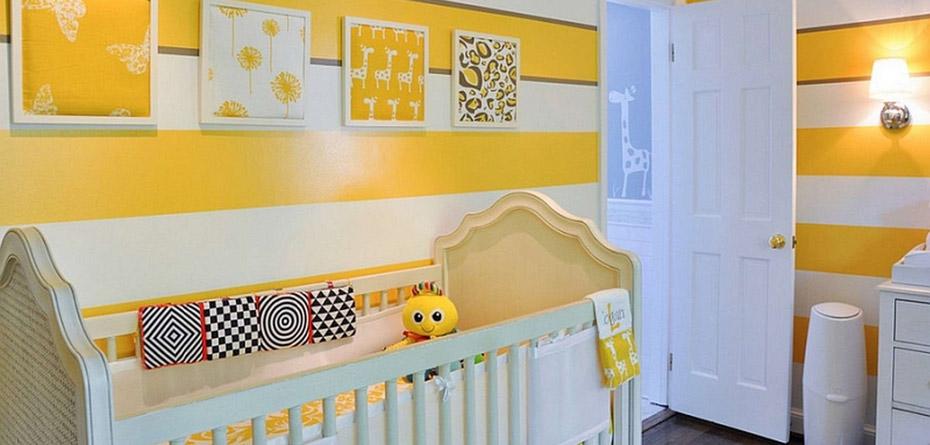 تزیین اتاق نوزاد با ایده های شیک و مدرن