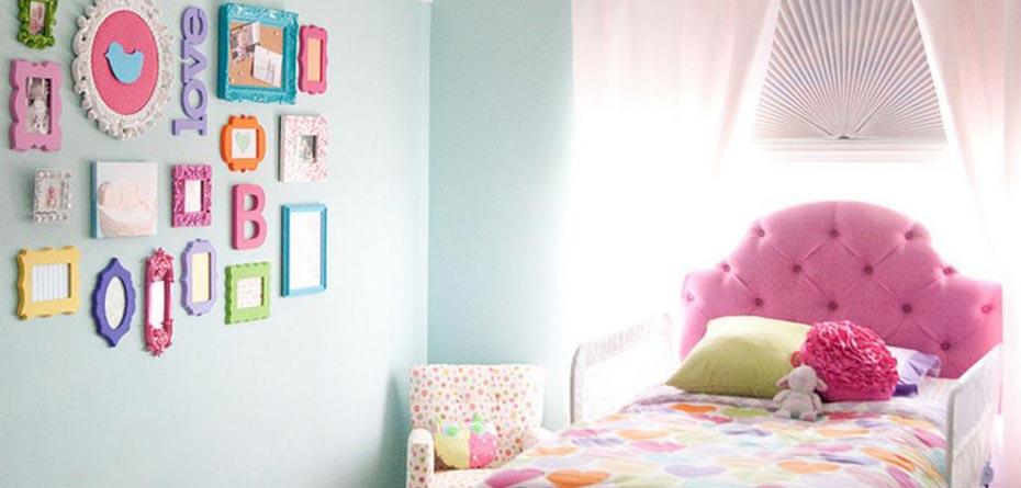 خلاقیت والدین برای اتاق کودکان
