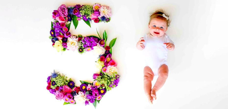 عکس ماهگرد نوزادتان را با این ایدهها متفاوت کنید