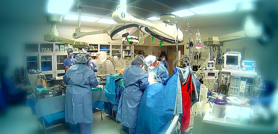 تومور 60 کیلویی از شکم زن 38 ساله خارج شد