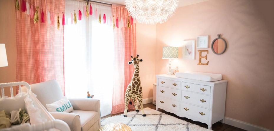 نورپردازی اتاق نوزاد چطور باشد بهتر است؟
