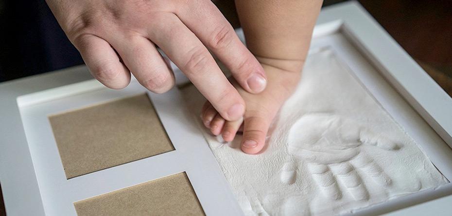 کاردستیهای خلاقانه با اثر پای نوزاد
