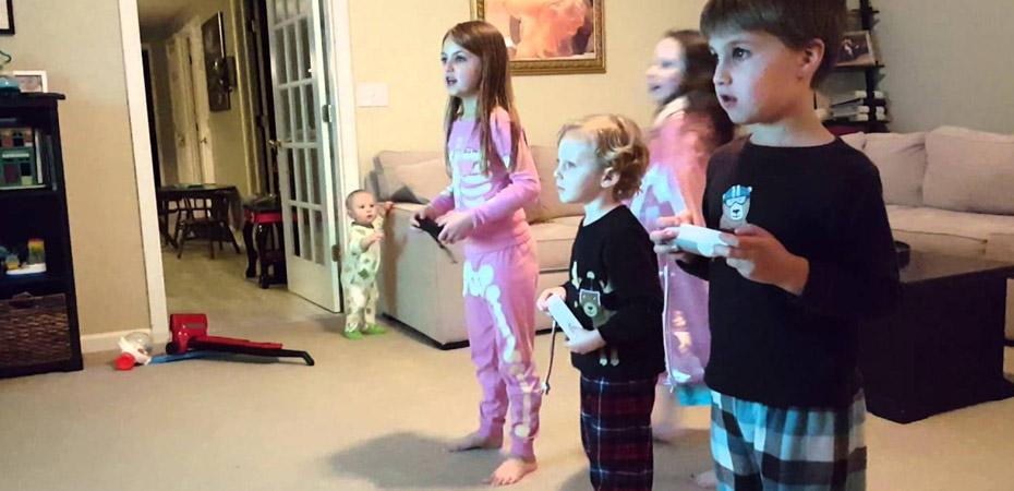 بازیهای ویدئویی حرکتی مانع از چاقی کودکان میشود