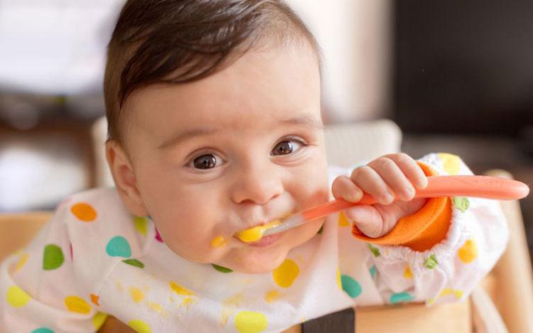 غذا برای کودک 7 ماهه