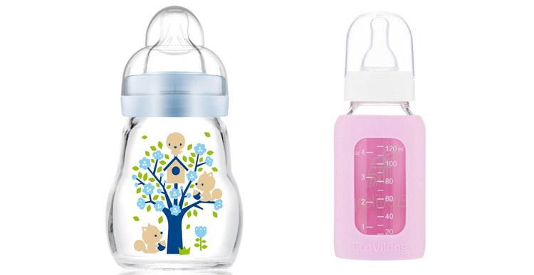 شیشه شیر نوزاد