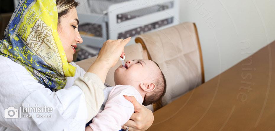 گریپ میکسچر برای نوزاد