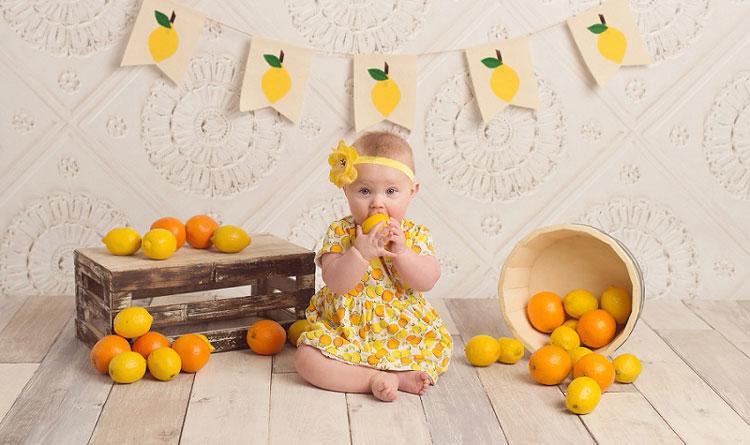مصرف لیمو شیرین و مرکبات برای نوزادان