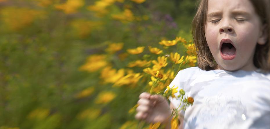 رژه آلرژی، از کودکی تا بزرگسالی